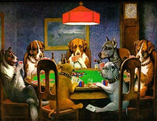 DogsPlayingPoker